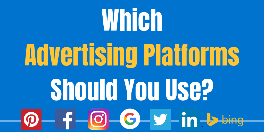 Picking online advertising platform