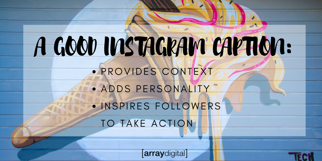 How to create a good Instagram caption