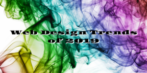 website web design trends of 2019
