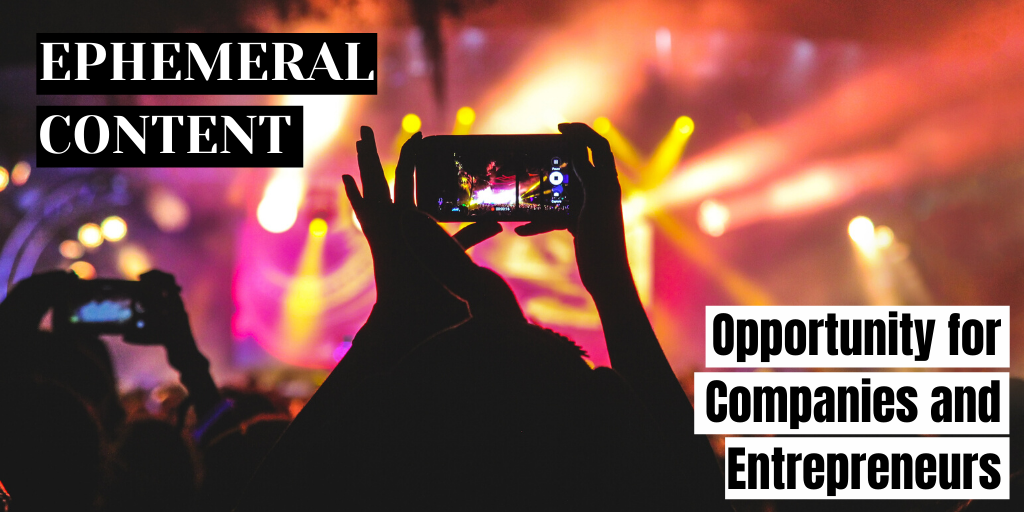 How and Why You Should Be Using Ephemeral Content