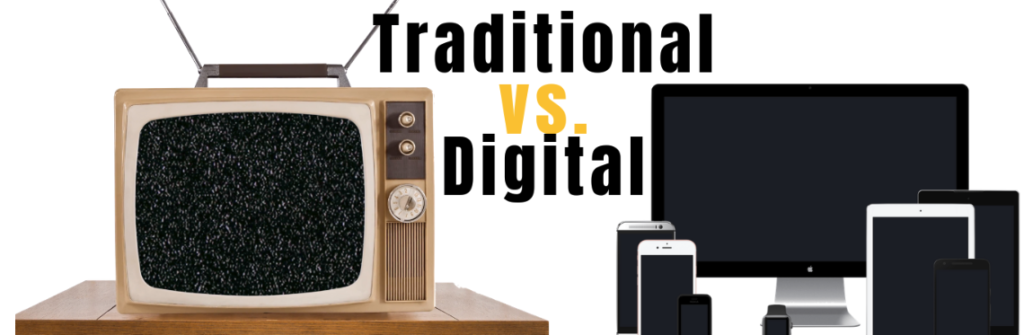 Digital Advertising vs. Traditional Advertising: How much does each one cost?