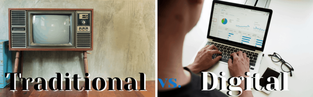 Digital vs. Traditional Advertising: The battle to reach new clients